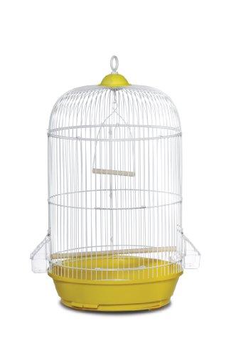 Hendryx Parakeet Prevue - Prevue Hendryx SP31999Y Classic Round Bird Cage, Yellow