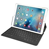 Apple Smart Keyboard for Apple iPad Pro 9.7-inch - MM2L2AM/A - Black (Renewed)