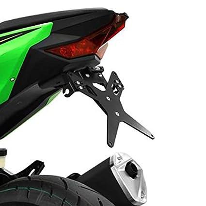 Portamatriculas Kawasaki Ninja 400 2018 Protech Negro ...