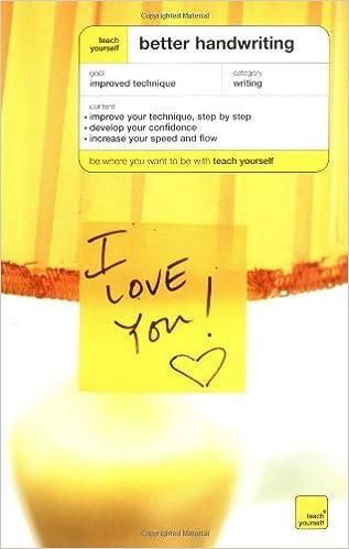 Teach Yourself Better Handwriting: Rosemary Sassoon: 0639785413042 ...