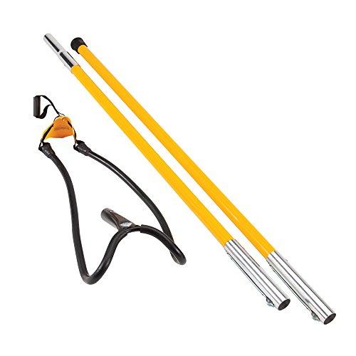 SherrillTree Set1027D Big Shot Kit Throw Line Launcher Standard, Black/Yellow