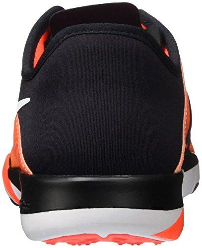 Nike Damen Wmns Free TR 6 PRT Turnschuhe Black (Schwarz / Weiß-Ttl Crmsn-Prl KNP)