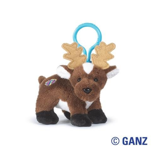 Holiday Reindeer Kinz Klip Webkinz by - Webkinz Reindeer