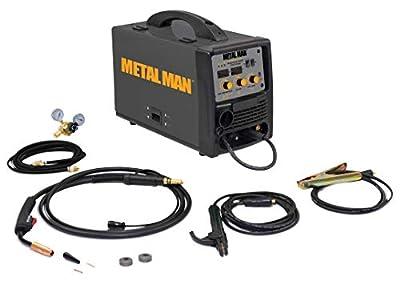 Metal Man Inverter Powered Dual Voltage Multi-Process Welder