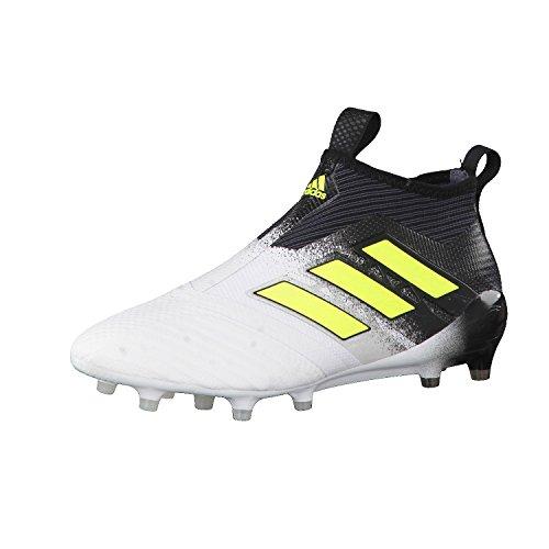 adidas Ace 17+ Purecontrol Fg, Zapatillas de Deporte para Hombre Blanco (Ftwbla / Amasol / Negbas)