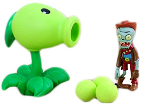 Plants Vs Zombies Toys Series Ejection Bead Pea Shooter