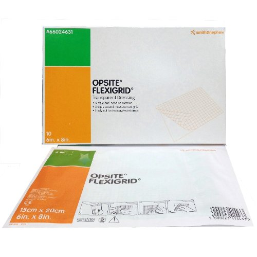 Smith & Nephew Opsite Flexigrid Transparent Dressings 6