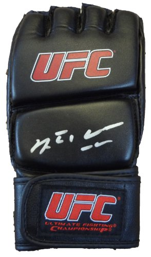 Autographed Ufc Glove - Anderson Silva Autographed UFC Fight Glove W/PROOF, Picture of Anderson Signing For Us. UFC Middleweight Champion, Brazil, Chael Sonnen, Dana White, Chris Weidman