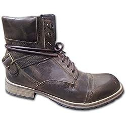 New Zigi Scene Lace-up Boot Brown Mens