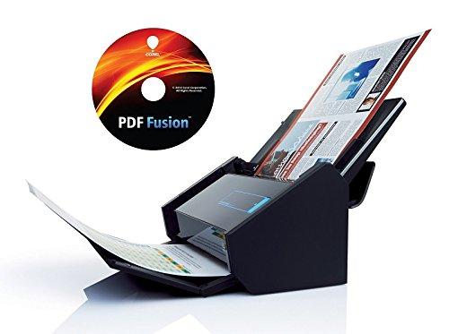 Fujitsu ScanSnap iX500 Dokumentenscanner inkl. Corel PDF Fusion (600dpi, WLAN, USB 3.0, Abbyy PDF Finereader MAC / WIN) ohne Acrobat