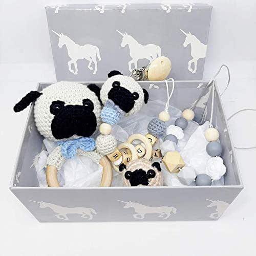 CosetesHandmade-Caja Baby Shower Carlino/Pug