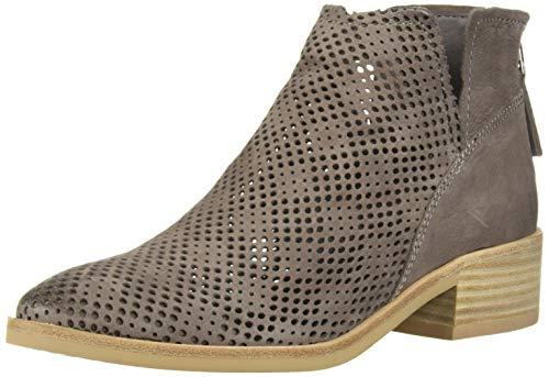 Dolce Vita Women's Tommi Ankle Boot, Smoke Nubuck, 6.5 M US