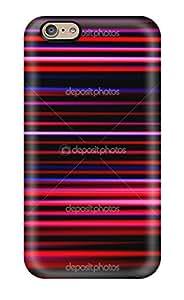 Fashionable LFyRUSL1666MmSoe Iphone 6 Case Cover For Futuristic Stripe Protective Case