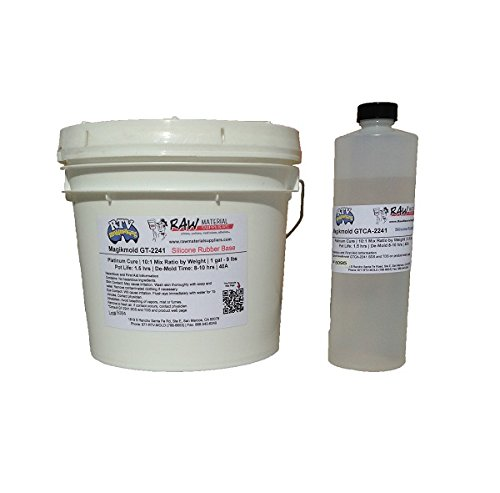Magikmold GT=2241T 40-45A Clear Platinum Cure RTV Silicone 9.9 lb Kit