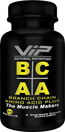 Branch Chain Amino Acid Plus Bcaas  Vip Natural Nutrition   Leucine  Isoleucine  Valine  2 1 1   The Muscle Makers  Lose Body Fat   60 Capsules