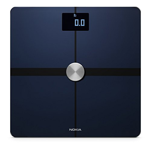 Nokia Body+ - Body Composition Wi-Fi Scale, Black
