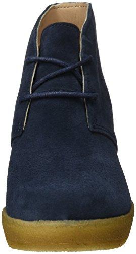 Clarks Originals Athie Terra, Botines para Mujer Azul (Navy Suede)