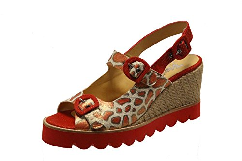 Gold Rot Pour Eu Femme Weiß Tiggers Sandales 35 nqaw5X