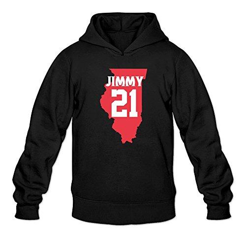 Lessons Rose Leadership Jimmy 21 Butler Hoodie Man Black