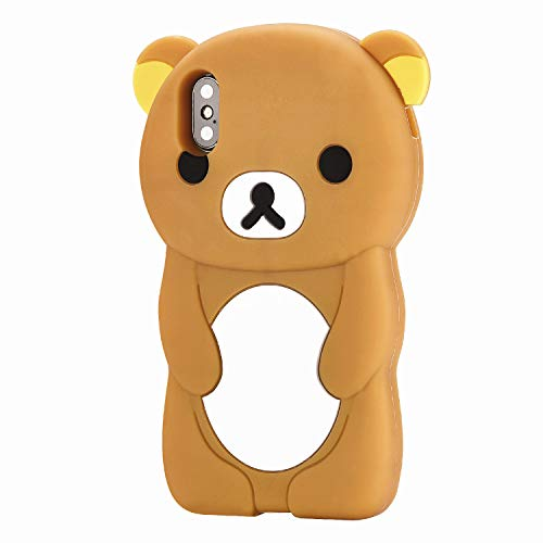 FunTeens Relax Bear Yellow Case for iPhone X/XS 5.8