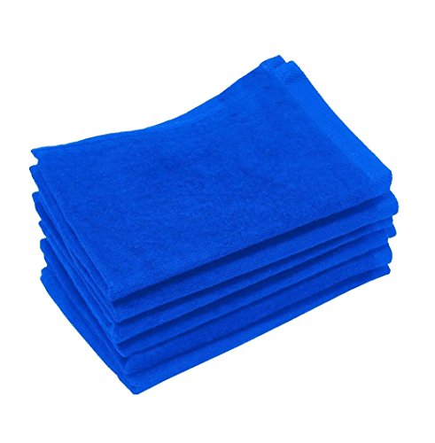 Golf Towels Wholesale - 12 Piece- Hand Towels, 100% Cotton, Multipurpose Use for Hand, Face, Golf, Ideal for everyday use - Easy care machine wash (12, Royal)