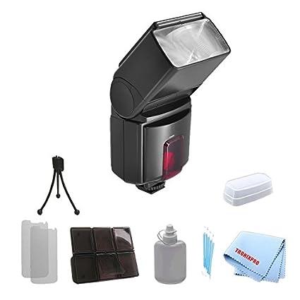 Amazon.com : Professional TTL Swivel Flash For Nikon D5000, D5100 ...