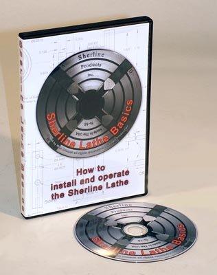 Sherline 5335 – Sherline Lathe Basics (DVD)