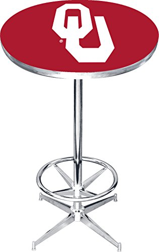 Oklahoma Sooners Pub Table (Imperial Officially Licensed NCAA Furniture: Round Pub-Style Table, Oklahoma Sooners)