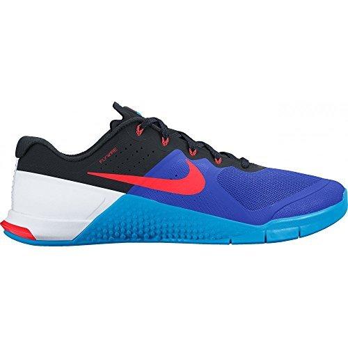 Nike Metcon 2 Cross Training Shoes 819899 (15, Racer Blue/Bright Crimson/Blue Glow/Black) (Xv Racer)