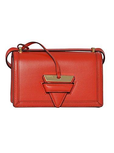 LOEWE WOMEN'S 30274P397931 RED LEATHER SHOULDER BAG