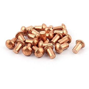 20 piezas DE 1/4 D 13/32 L de la caña de cobre