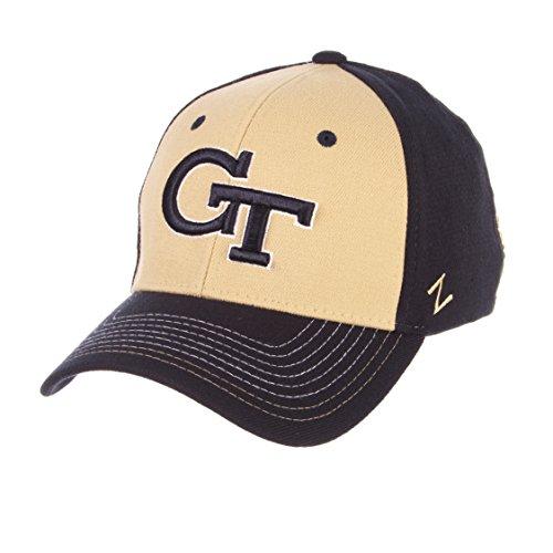 NCAA Georgia Tech Men's Stitch Hat, Medium/Large, Team Color
