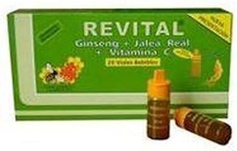 Revital Ginseng 20 ampollas de Pharma Otc