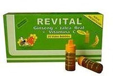 Revital Ginseng 20 ampollas de Pharma Otc: Amazon.es: Salud y cuidado personal