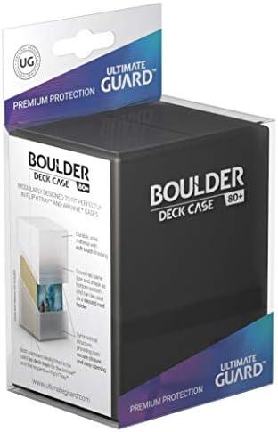 Ultimate Guard Boulder Deck Case - Caja para 80 Cartas, tamaño ...
