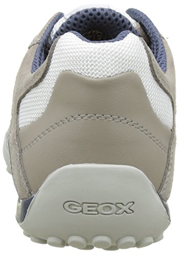 White Basses Gris Ice Geox Uomo Snake Homme K Baskets z6q68T