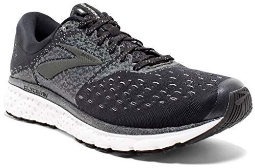 Brooks Mens Glycerin 16 - Reflective Black/White/Grey - D - 10.0