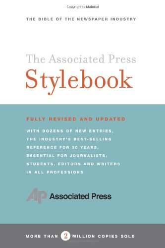 Pdf Reference The Associated Press Stylebook and Briefing on Media Law