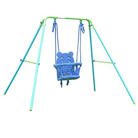 HLC Folding Toddler Blue Secure Swing