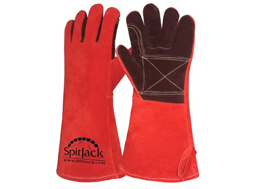 SpitJack Deluxe Fireplace Barbecue Gloves product image