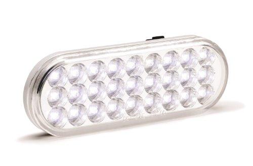 "KC HiLiTES 1017 LED 6"" Clear/White Oval Backup Light"