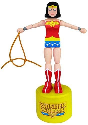 Entertainment Earth DC Comics Wonder Woman Wood Push ()