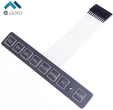 Teclado de extensión de matriz 1x4 4 Teclado Teclado Clave Interruptor de membrana