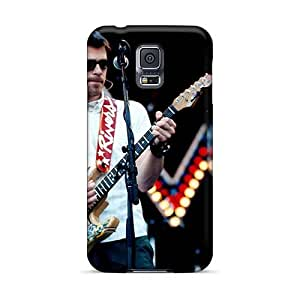 Scratch Resistant Hard Phone Covers For Samsung Galaxy S5 With Provide Private Custom Trendy Breaking Benjamin Band Pictures InesWeldon