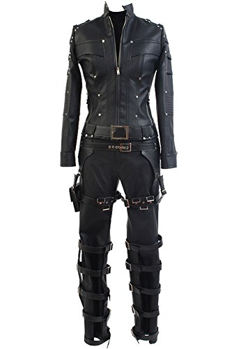 Laurel Lance Arrow Costume (CosplaySky Green Arrow Season 3 Black Canary Costume Laurel Lance Outfit Small)