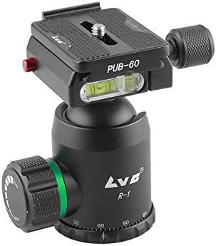 LVG Professional Photographic Tripod K-1255N+R-1