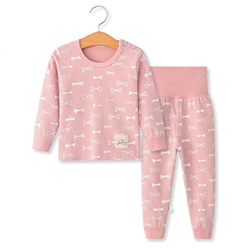 YANWANG 100% Organic Cotton Baby Boys Girls Pajamas Set Long Sleeve Sleepwear(3M-5T)(Tag60/2-3T,Pattern -