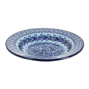 Blue Rose Polish Pottery Joanna Soup Plate