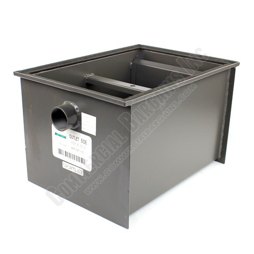 WentWorth 30 Pound Grease Trap Interceptor 15 GPM Gallons Per Minute WP-GT-15 by Wentworth