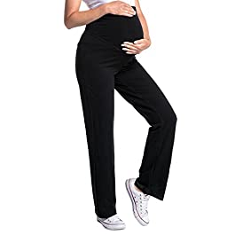 Zeta Ville – Women's Pregnancy Pants. Available in 3 Leg Lengths – 691c